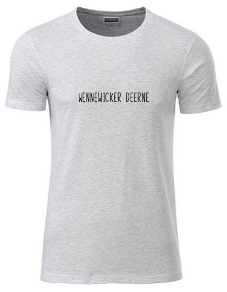 Wennewicker Deerne | T-Shirt JUNGE | ASH HEATHER (hellgrau)