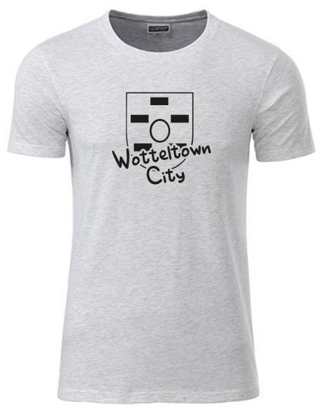 Wotteltown City | T-Shirt JUNGE | ASH HEATHER (hellgrau)