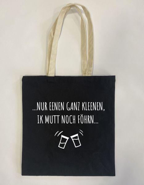Nur eenen ganz Kleenen | Baumwoll Tasche | Einkaufstasche