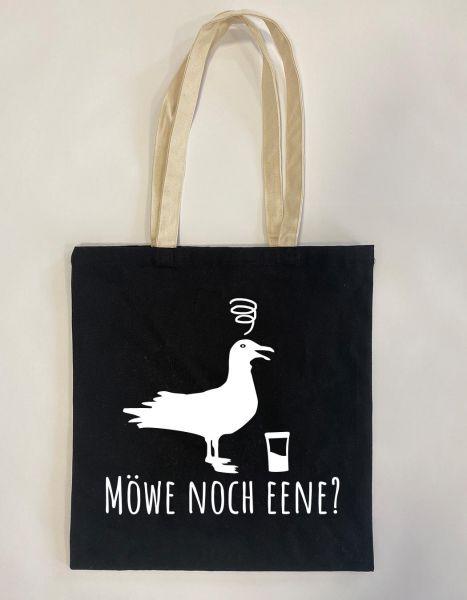 Möwe noch eene? | Baumwoll Tasche | Einkaufstasche