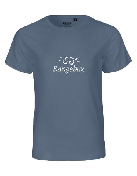 Bangebux | T-Shirt KINDER | DUSTY INDIGO (blaugrau)