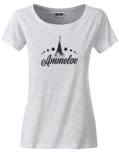 Ammeloe | T-Shirt DEERNE | ASH HEATHER (hellgrau)