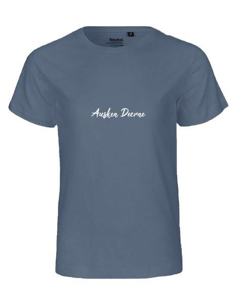 Ausken Deerne | T-Shirt KINDER | DUSTY INDIGO (blaugrau)
