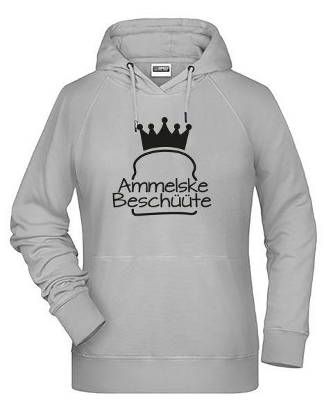 Ammelske Beschüüte | Hoodie DEERNE | ASH (hellgrau)