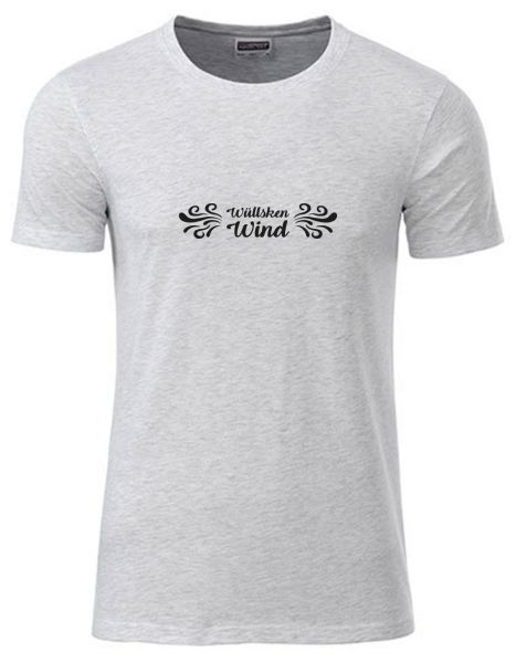 Wüllsken Wind | T-Shirt JUNGE | ASH HEATHER (hellgrau)
