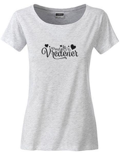 Proud to be Vredener | T-Shirt DEERNE | ASH HEATHER (hellgrau)