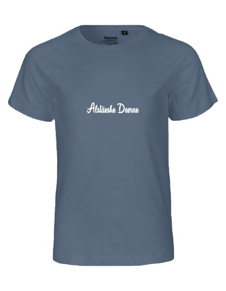 Alstäeske Deerne   T-Shirt KINDER   DUSTY INDIGO (blaugrau)