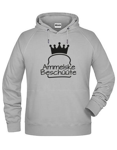 Ammelske Beschüüte | Hoodie JUNGE | ASH (hellgrau)