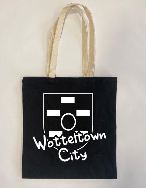 Wotteltown City | Baumwoll Tasche | Einkaufstasche