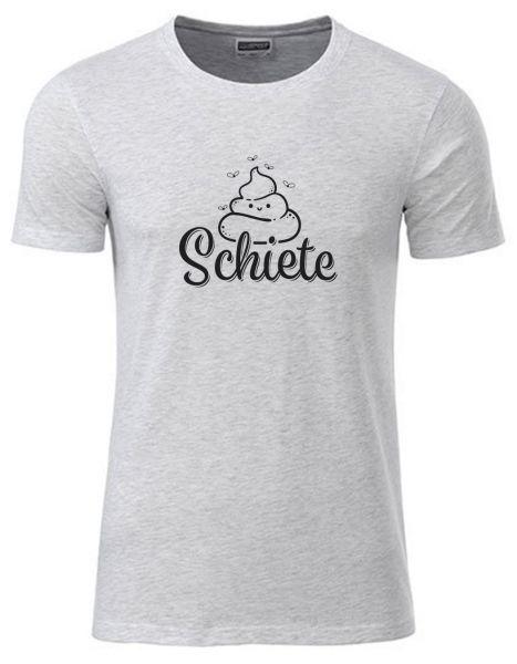 Schiete   T-Shirt JUNGE   ASH HEATHER (hellgrau)