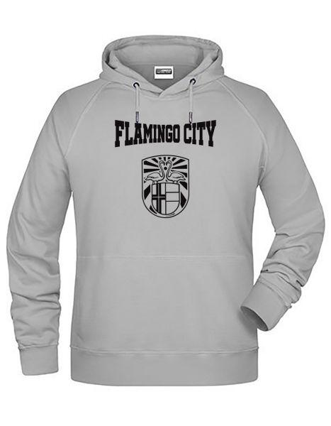 Flamingo City | Hoodie MAN | ASH (hellgrau)