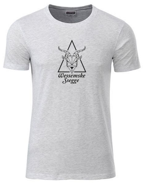Wessemske Ssegge | T-Shirt JUNGE | ASH HEATHER (hellgrau)