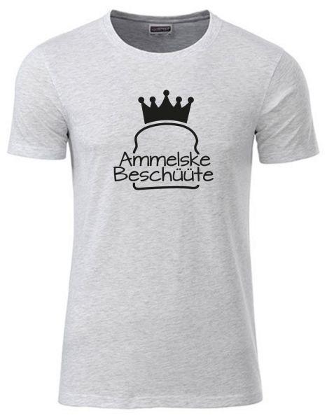 Ammelske Beschüüte | T-Shirt JUNGE | ASH HEATHER (hellgrau)
