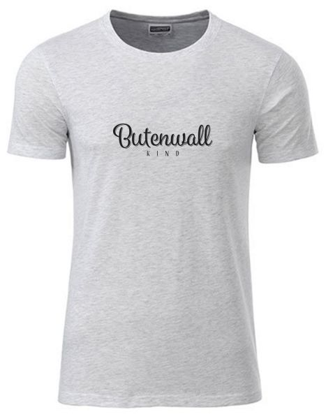 Butenwall Kind | T-Shirt JUNGE | ASH HEATHER (hellgrau)