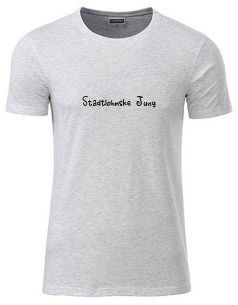 Stadtlohnske Jung | T-Shirt JUNGE | ASH HEATHER (hellgrau)