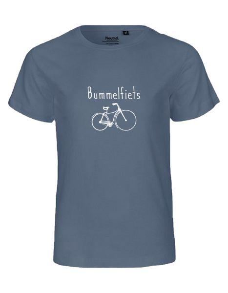 Bummelfiets | T-Shirt KINDER | DUSTY INDIGO (blaugrau)