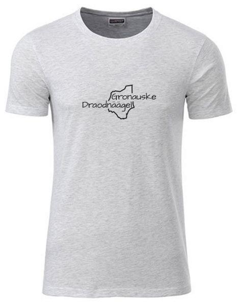 Gronauske Draodnäägel | T-Shirt JUNGE | ASH HEATHER (hellgrau)