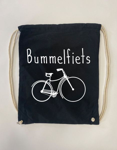 Bummelfiets | Baumwoll Rucksack | Sportsack