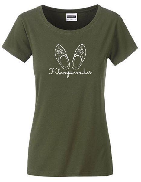Klumpenmaker   T-Shirt DEERNE   OLIVE GREEN (olivgrün)