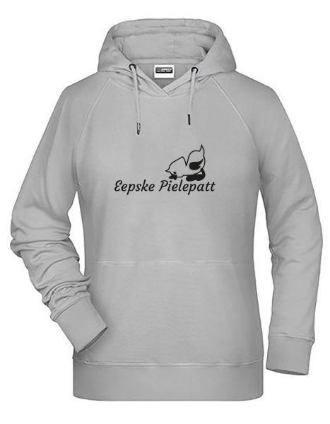 Eepske Pillepatt| Hoodie DEERNE | ASH (hellgrau)