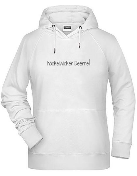 Köckelwicker Deerne   Hoodie WOMAN   WHITE (weiß)