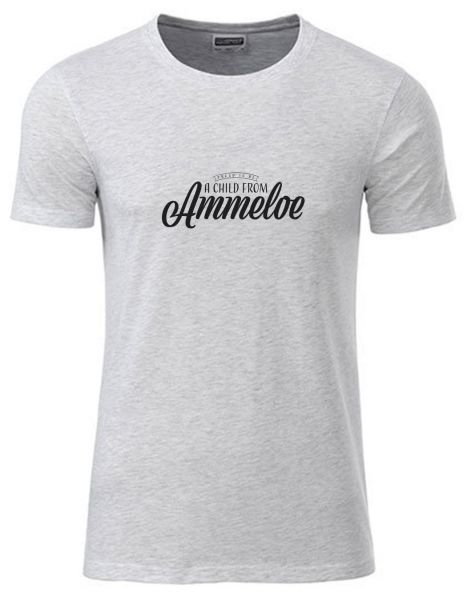 Proud to be a Child from Ammeloe | T-Shirt JUNGE | ASH HEATHER (hellgrau)