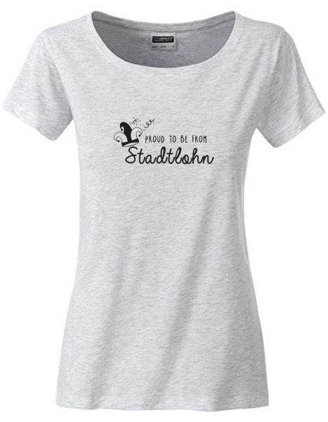 Proud to be from Stadtlohn 2 | T-Shirt DEERNE | ASH HEATHER (hellgrau)