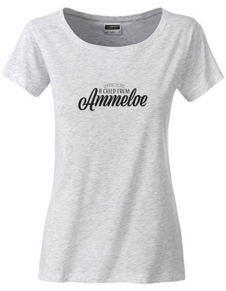 Proud to be a Child from Ammeloe | T-Shirt DEERNE | ASH HEATHER (hellgrau)