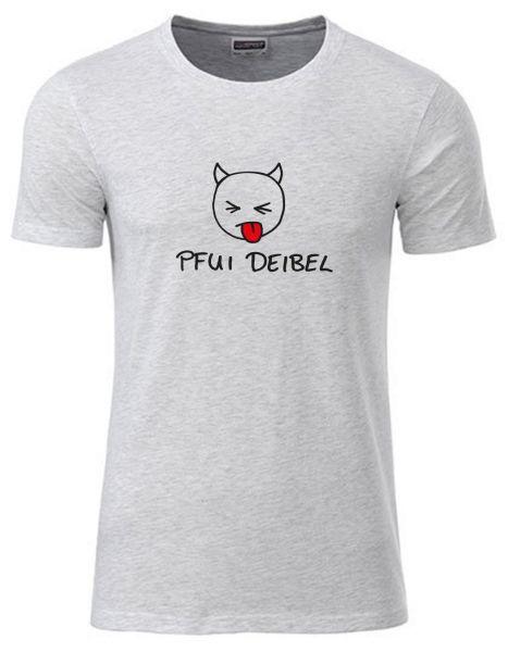 Pfui Deibel | T-Shirt JUNGE | ASH HEATHER (hellgrau)