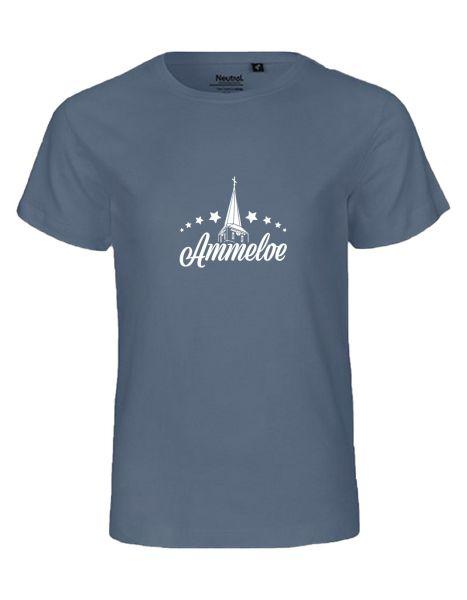 Ammeloe | T-Shirt KINDER | DUSTY INDIGO (blaugrau)