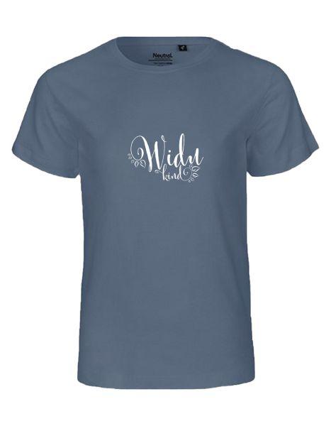 Widukind | T-Shirt KINDER | DUSTY INDIGO (blaugrau)