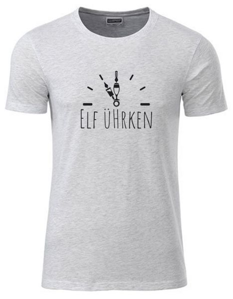Elf Ührken 2 | T-Shirt JUNGE | ASH HEATHER (hellgrau)