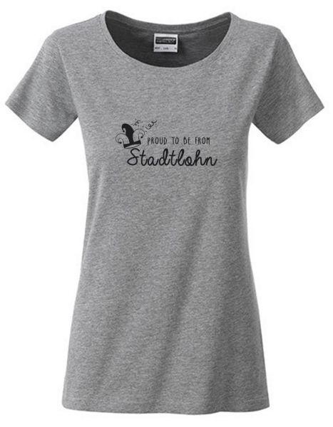 Proud to be from Stadtlohn 2 | T-Shirt DEERNE | GREY HEATHER (grau)