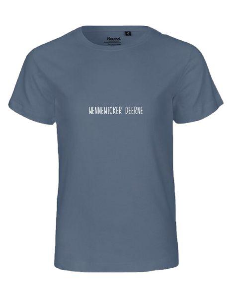 Wennewicker Deerne | T-Shirt KINDER | DUSTY INDIGO (blaugrau)