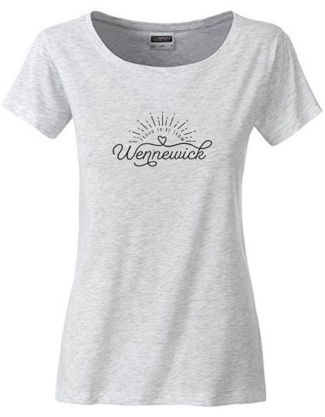 Proud to be from Wennewick | T-Shirt DEERNE | ASH HEATHER (hellgrau)