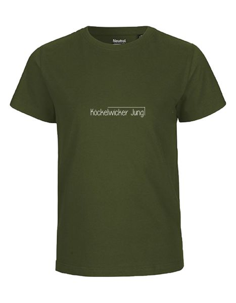 Köckelwicker Jung | T-Shirt KINDER | MILITARY (olive)