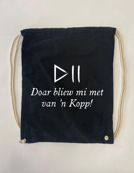 Doar bliew mi met van'n Kopp! | Baumwoll Rucksack | Sportsack