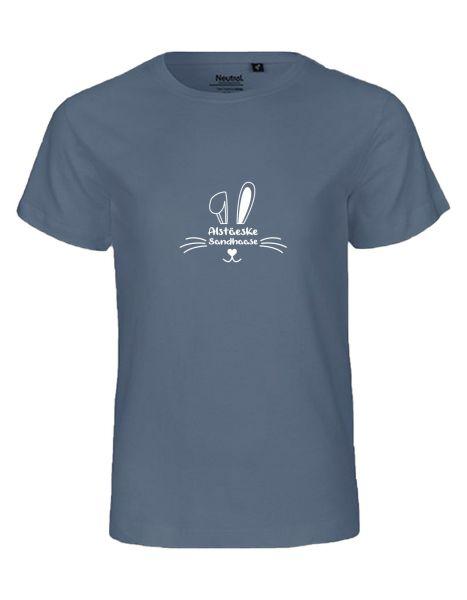 Alstäeske Sandhaase | T-Shirt KINDER | DUSTY INDIGO (blaugrau)