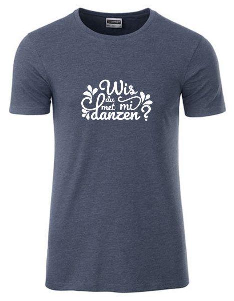 Wis du met mi danzen?   T-Shirt JUNGE   DENIM MELANGE (blaugrau)