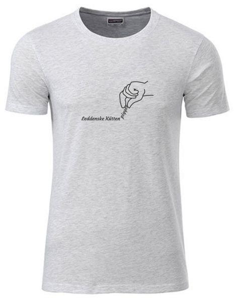 Leddenske Küütenpigger | T-Shirt JUNGE | ASH HEATHER (hellgrau)