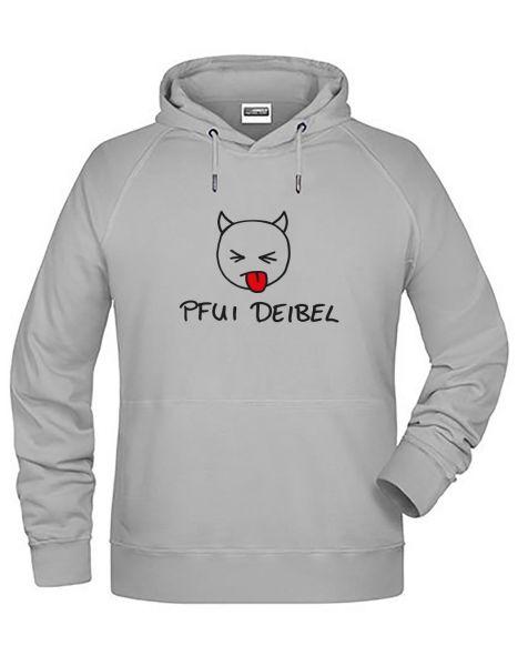 Pfui Deibel | Hoodie JUNGE | ASH (hellgrau)