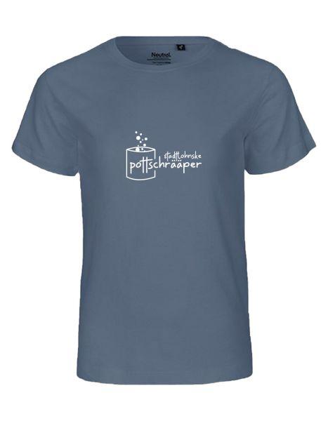 Stadtlohnske Pottschrääper   T-Shirt KINDER   DUSTY INDIGO (blaugrau)