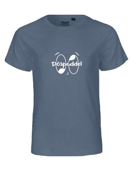 Döspaddel | T-Shirt KINDER | DUSTY INDIGO (blaugrau)
