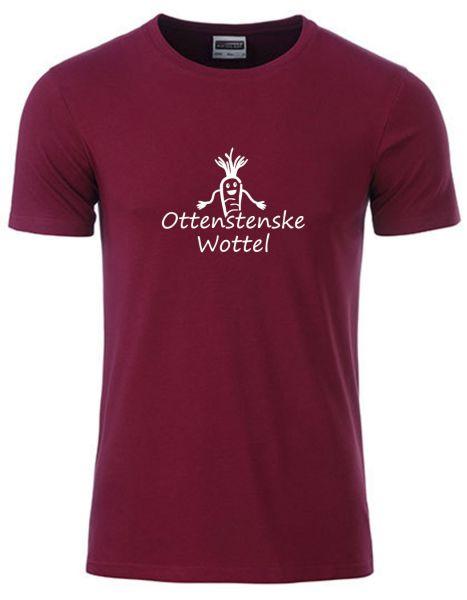 Ottenstenske Wottel | T-Shirt JUNGE | WINE RED (weinrot)