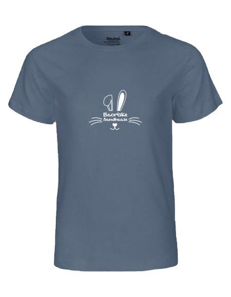 Baorlske Sandhaase | T-Shirt KINDER | DUSTY INDIGO (blaugrau)