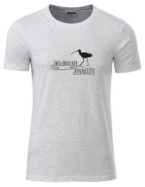 Zwillbrocker Vennetüte | T-Shirt JUNGE | ASH HEATHER (hellgrau)