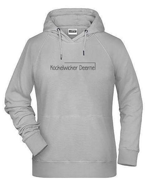 Köckelwicker Deerne | Hoodie WOMAN | ASH (hellgrau)