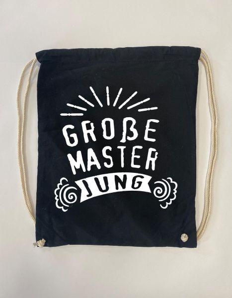 Große Master Jung | Baumwoll Rucksack | Sportsack