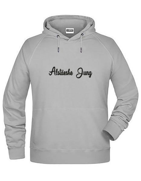 Alstäeske Jung | Hoodie JUNGE | ASH (hellgrau)