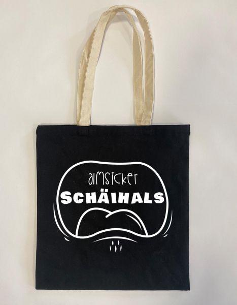 Almsicker Schäihals | Baumwoll Tasche | Einkaufstasche